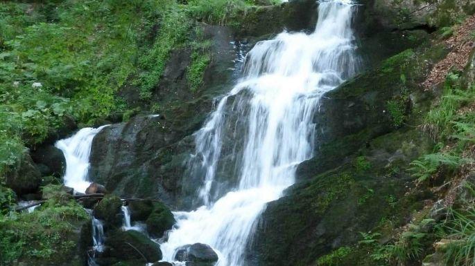 La cascade de la Serva, la plus légendaire