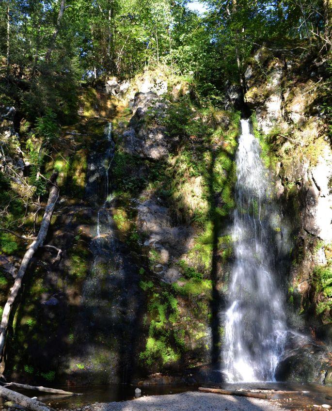La cascade du Heidenbad, la plus secrète