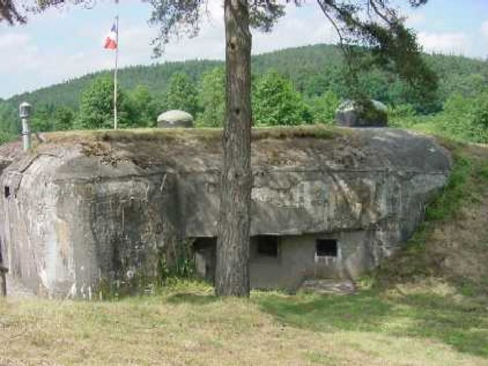 La casemate de Dambach est aujourd\'hui aménagée et visitable