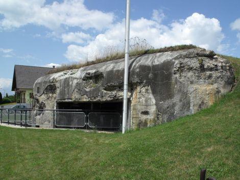 La Casemate Rieffel a tenu son rôle malgré de violents bombardements