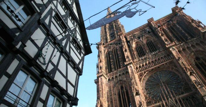 Partir à l'assaut de la Cathédrale de Strasbourg !