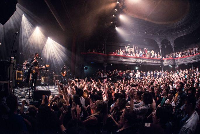 Concert à La Cigale à Paris