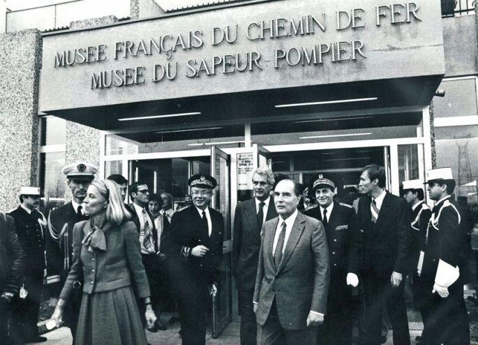 1982, quand Mitterrand était venu visiter le musée!