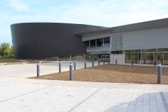 La Comète à Hesingue, complexe de 6300m2, accueille des manifestations culturelles, sportives et festives