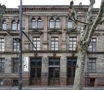 La façade sud du Musée Zoologique de Strasbourg