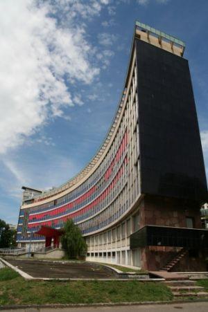 La Faculté de Droit à Strasbourg et son emblématique bâtiment en arc de cercle