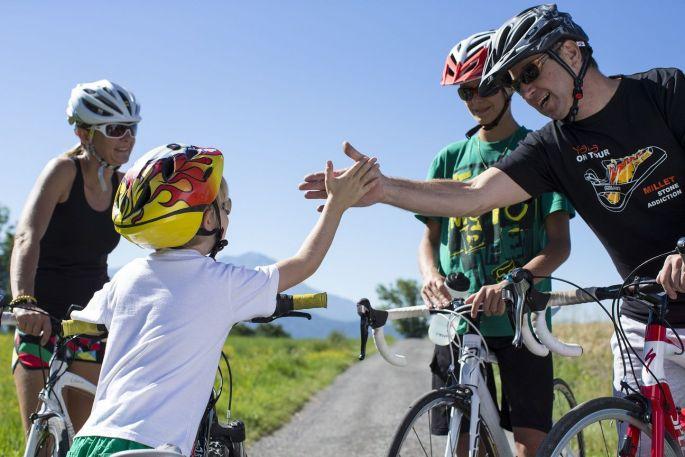 Le vélo, une activité familiale pour toutes les générations !