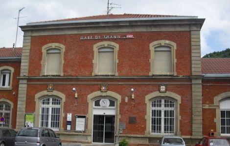 La gare de Thann