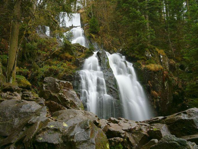 La grande cascade de Tendon, la plus haute !
