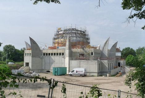 La Grande Mosquée de Strasbourg est un important chantier dans la ville