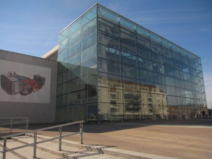 La Kunsthalle se trouve sur le campus de la Fonderie à Mulhouse