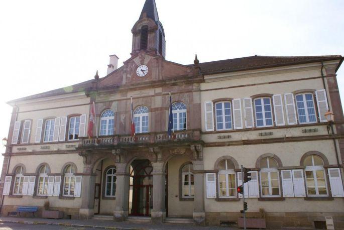 La mairie d\'Illfurth