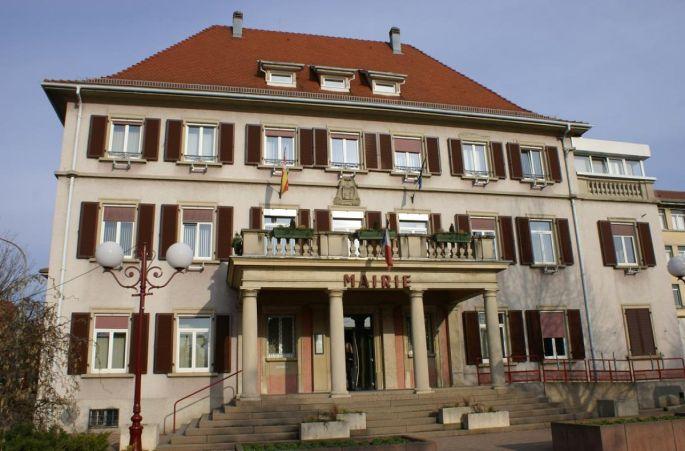 La mairie de Lutterbach