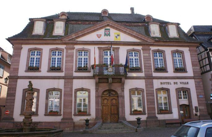 La mairie de Ribeauvillé