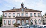 La mairie de Sierentz dans le Haut-Rhin