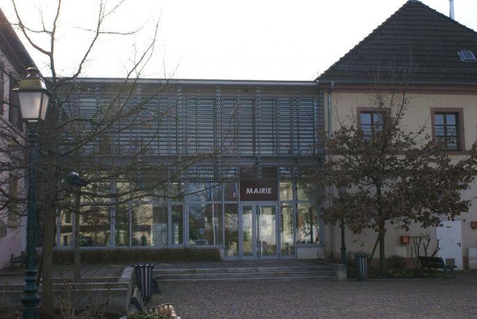 La mairie de Zillisheim