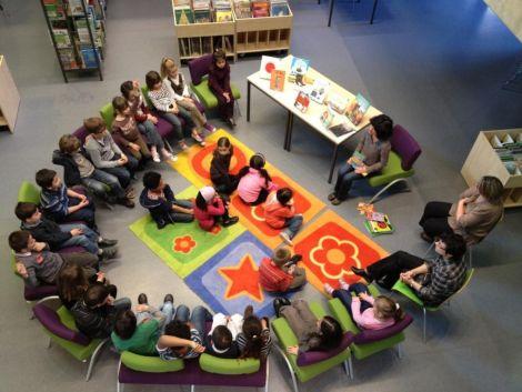 La médiathèque d\'Erstein propose des activités pour les plus petits comme la lecture de conte, une fois par mois