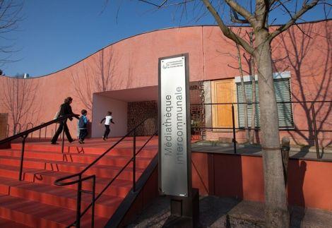 La médiathèque intercommunale du Kochersberg à Truchtersheim fait partie du réseau Ko\'libris