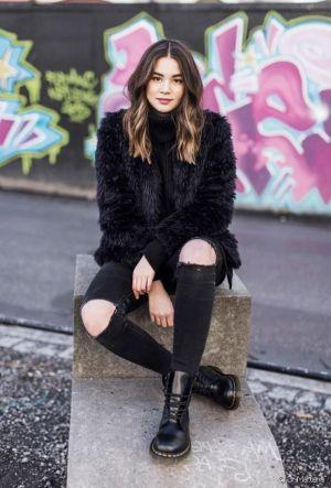 Un modèle culte et tendance: les boots montantes Dr Martens!