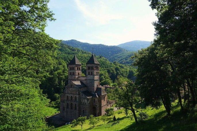 La mystérieuse Abbaye de Murbach