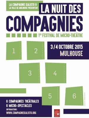 La Nuit des Compagnies - 1er Festival de Micro-théâtre