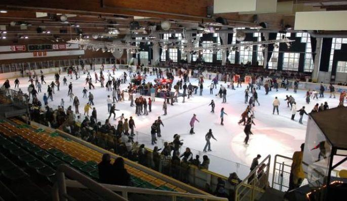 La patinoire de l'Illberg à Mulhouse