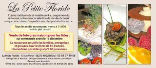 Restaurant La petite Floride