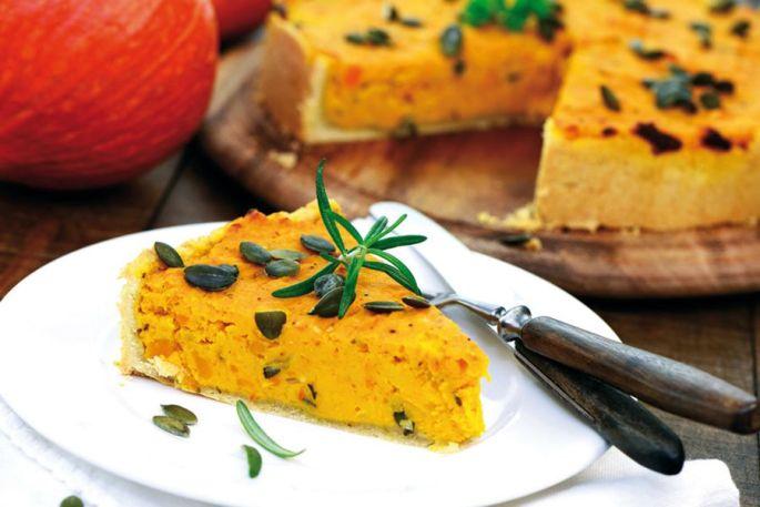 La quiche d\'Halloween potiron & carotte