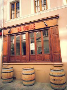 La Quille, bar à vins au centre de Mulhouse
