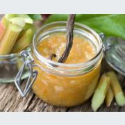 La recette de la confiture de rhubarbe
