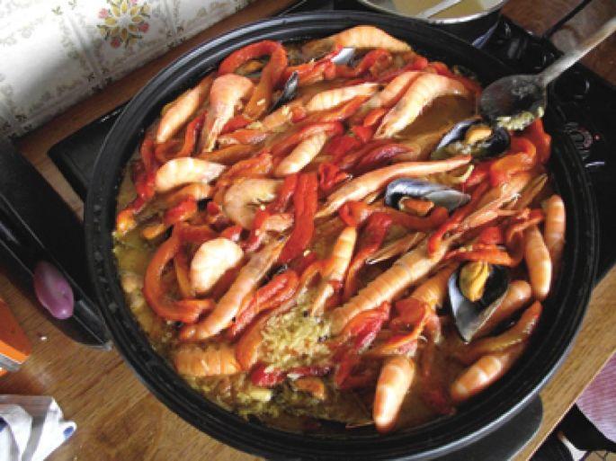 La recette de la paella semble être apparue au XVIIIème