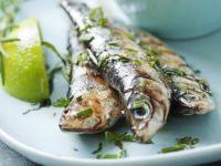La recette de la sardine fraîche au barbecue