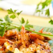 Recette : grillade de langoustines à l'ail au barbecue