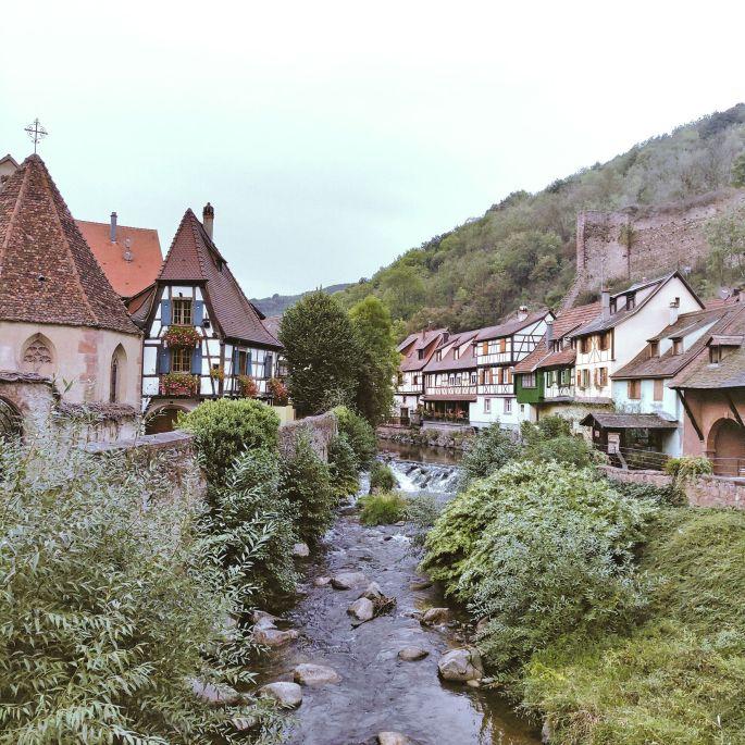La route des Vins depuis Colmar
