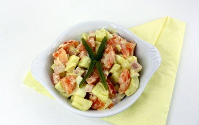 La salade de pommes de terre à l\'alsacienne