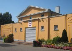 La salle des fêtes d\'Entzheim, à proximité de Strasbourg