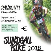 La Sundgau Bike 2018 - 19e Rando VTT
