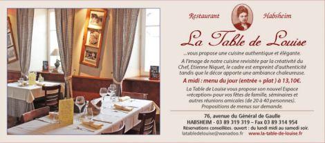 La Table de Louise