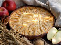 La tarte aux pommes alsacienne