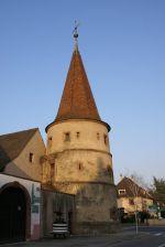 La Tour des Fripons, emblème d\'Ammerschwihr depuis 1535