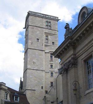 La Tour Philippe Le Bon à Dijon, au cœur du Palais des Ducs et Etats de Bourgogne