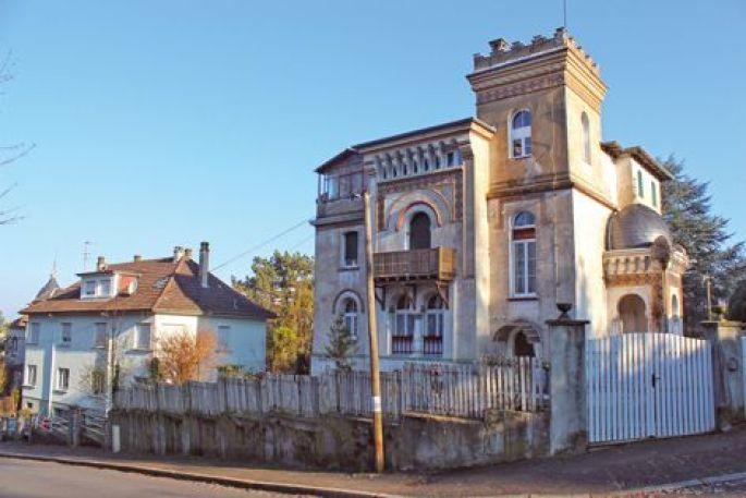 La villa néo-mauresque