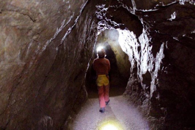 La visite d'une mine d'Argent