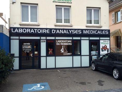 Le laboratoire d\'analyse médicale du Rebberg