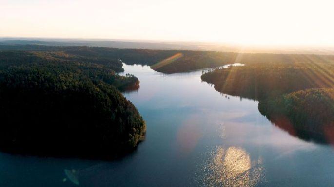 Lac de de Pierre-Percée
