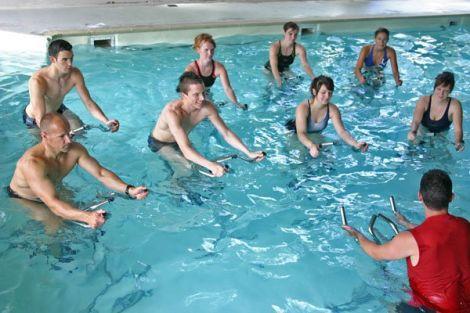 L\'aquabiking, une vraie cure de jouvence pour les gambettes