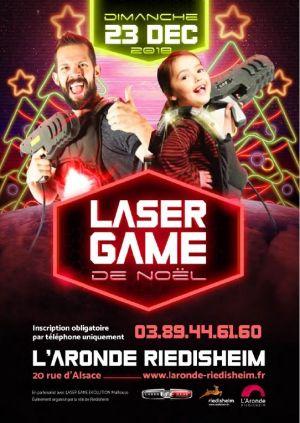 Laser Game géant de Noël