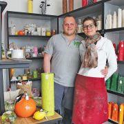 Ldéco: des bougies 100% naturelles, de la cire jusqu'à la mèche