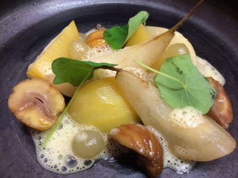 La cuisine moderne du Bistro des saveurs* à Obernai