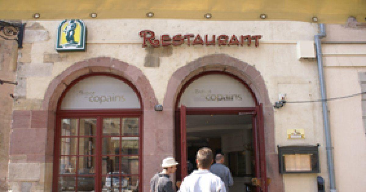 Le bistrot des copains colmar restaurant cuisine fran aise for Diner entre copains